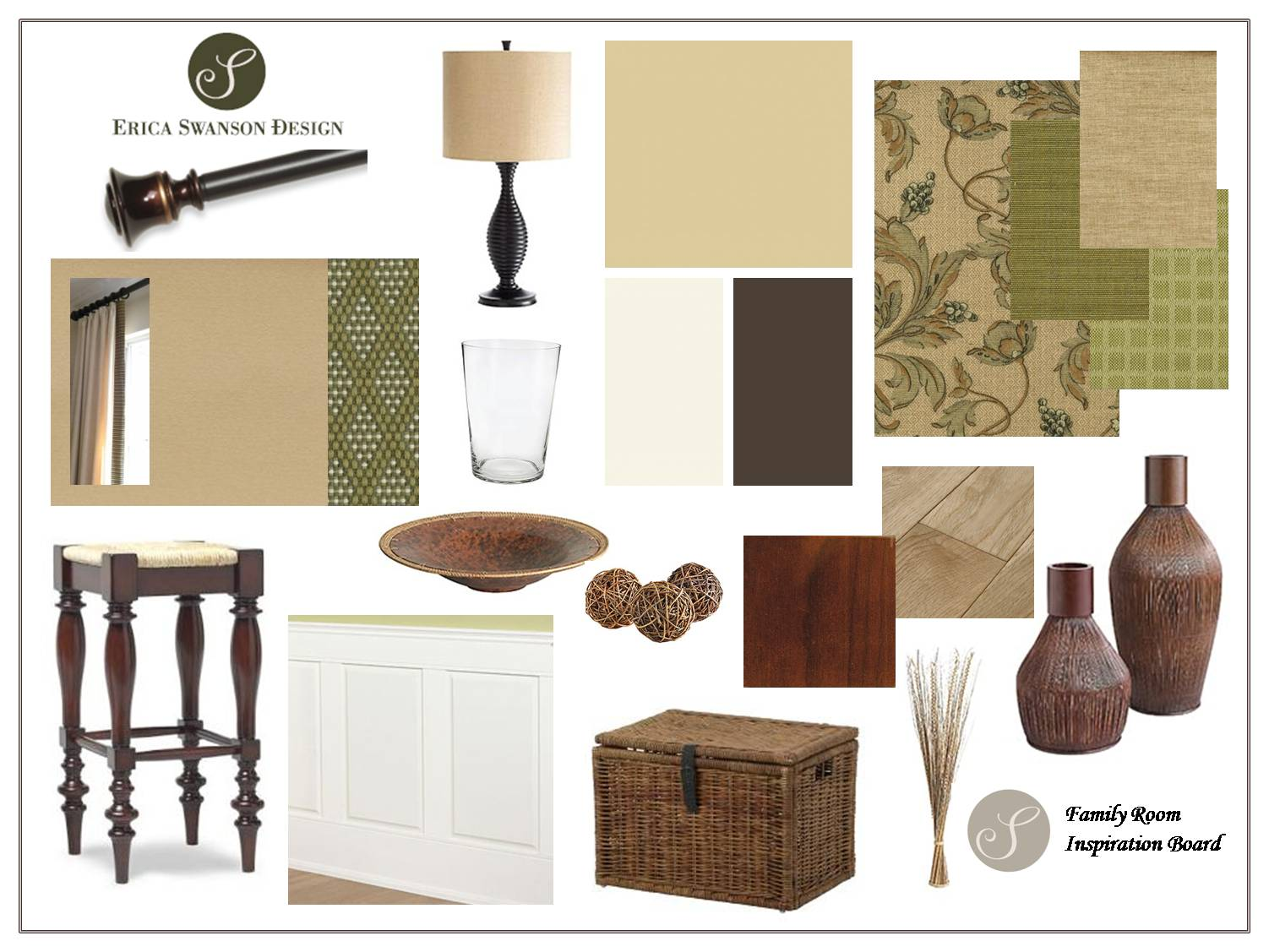 Inspiration Board - Family Room