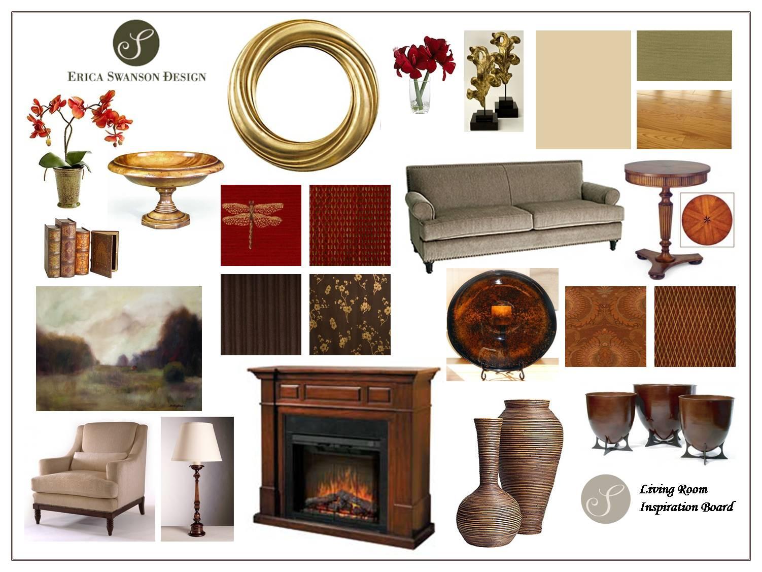 Inspiration Board - Living Room [2]