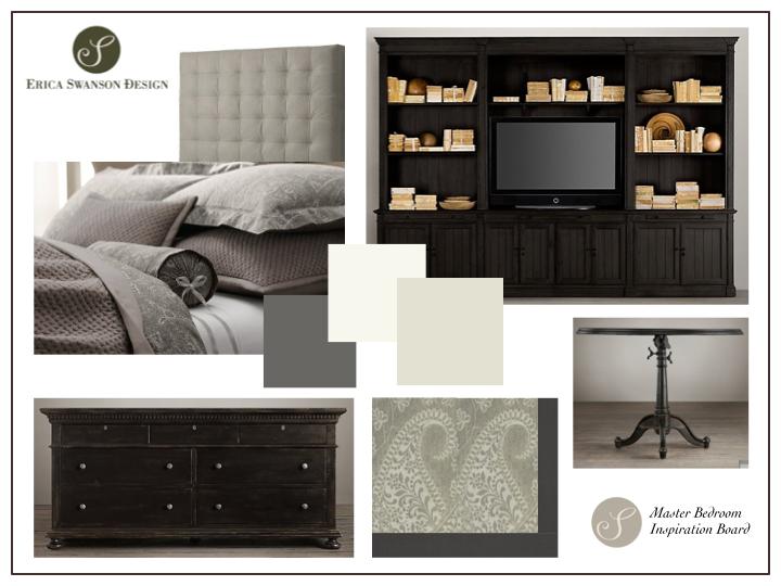 Inspiration Board - Master Bedroom