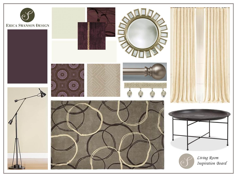 Inspiration Board - Living Room