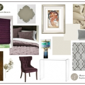 Inspiration Board - Master Bedroom