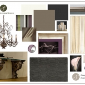 Inspiration Board - Dining Room
