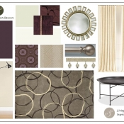 Inspiration Board - Living Room